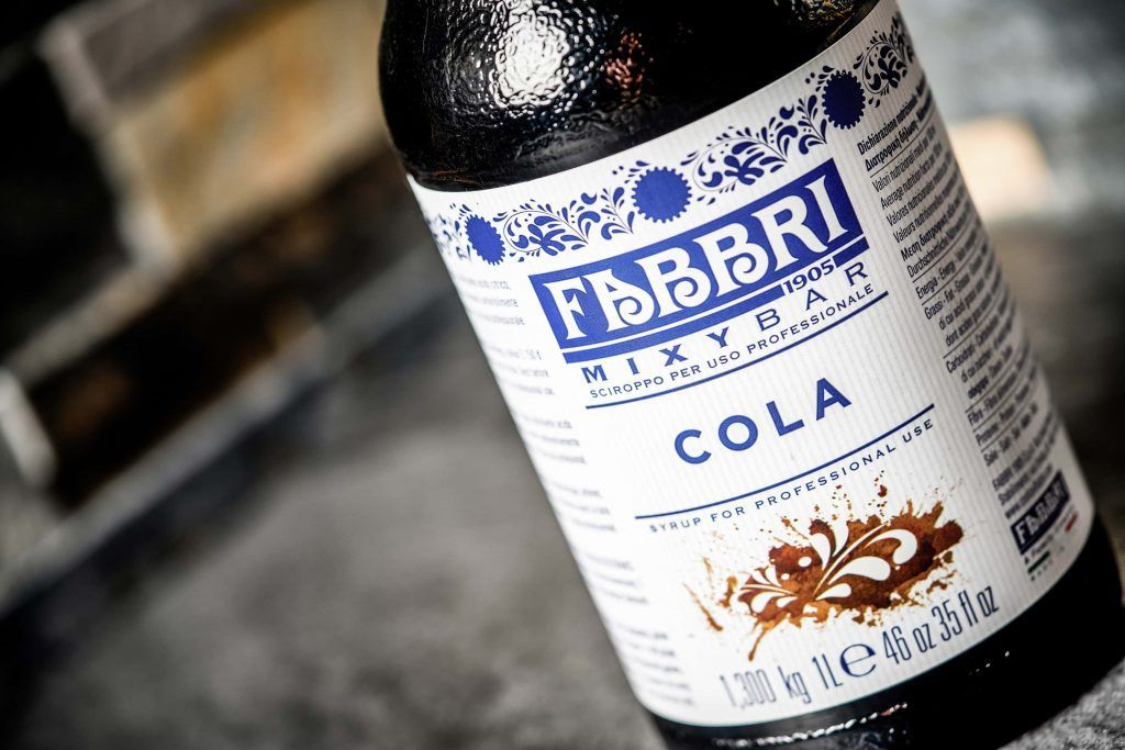 cola syrup. Cuba libre royal ingredients