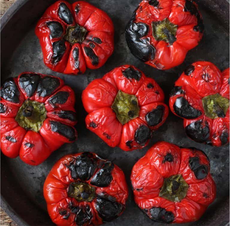 grilled bell pepper